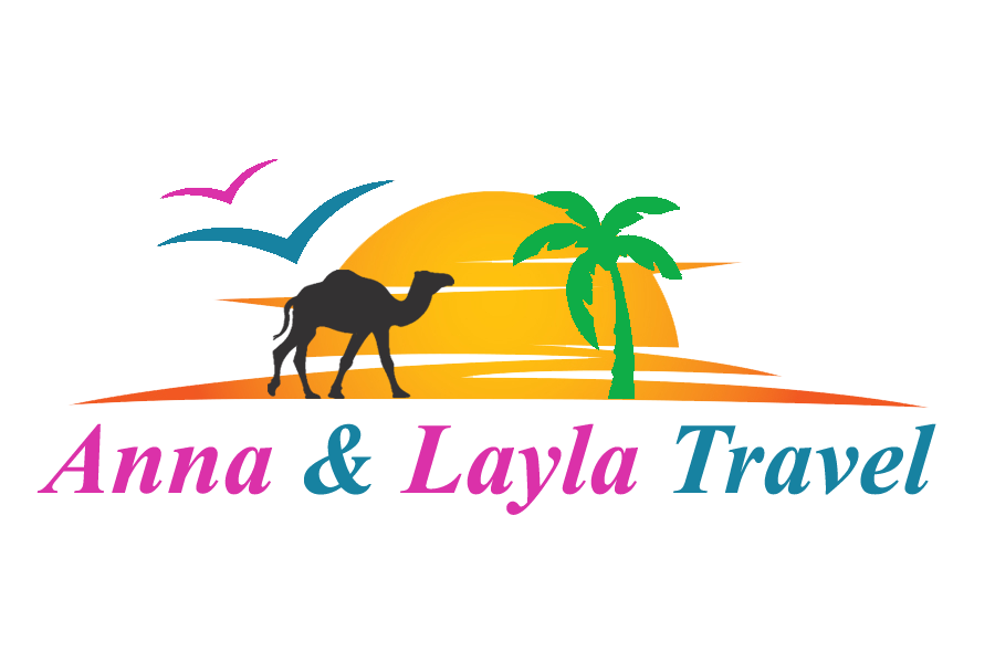 LOGO ANNA & LAYLA TRAVEL